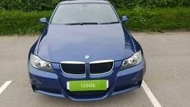 BMW 320D M Sport 2008, full history, 2 keys, 12mth MOT, cruise, parking sensors, upgrade bmw audio