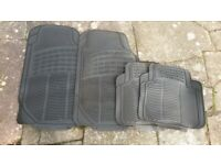 Black Rubber Car Mats