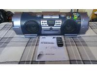 JVC RV-B99BU Boomblaster Boombox