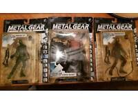 Metal Gear Solid Action Figures *rare* (1998)