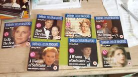 7 new dvds in the Barbara Taylor Bradford range