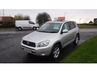 TOYOTA RAV4 2.2 XT-R D-4D 2008,Demo+1Owner,Alloys,A/Con,Sunroof,Privacy Glass,Full History,Spotless
