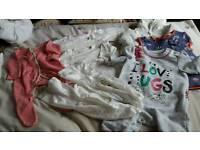 Newborn girl winter clothes Next, John Lewis