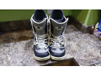 Pair of 'Vans' Snowboarding Boots size 12