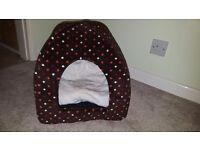 Unused cat igloo/cat bed