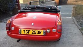 Classic MGB Roadster 1976 must be seen