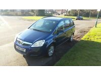 2010 Vauxhall Zafira 1.6 Petrol, 7 SEATER, NEW MOT, PERFECT RUNNER, free delivery