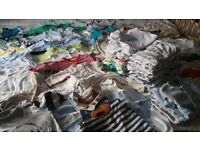Huge bundle of baby clothes 100+ items