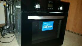 Indesit electric fan oven automatic
