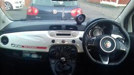 Fiat 500 Lounge Abarth Look