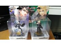Nintendo Super Smash Bros Amiibo Bayonetta and Cloud