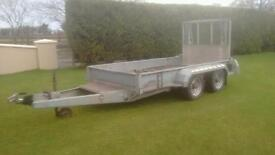 Plant trailer Nugent 10x5 lights brakes