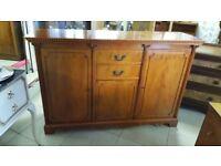 Walnut Sideboard / Buffet Cabinet