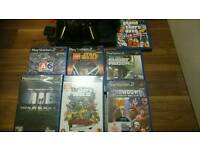 Slimline Sony ps2 console and games bundle
