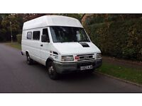 IVECO DAILY (D) 2.8TD35.10H/RP/V MWB 1999 V reg (3500 Kg) Window Van with seats £1295