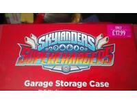 SKYLANDERS SUPERCHARGERS GARAGE STORAGE CASE