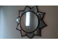Beautiful handmade mosaic mirror, never used!