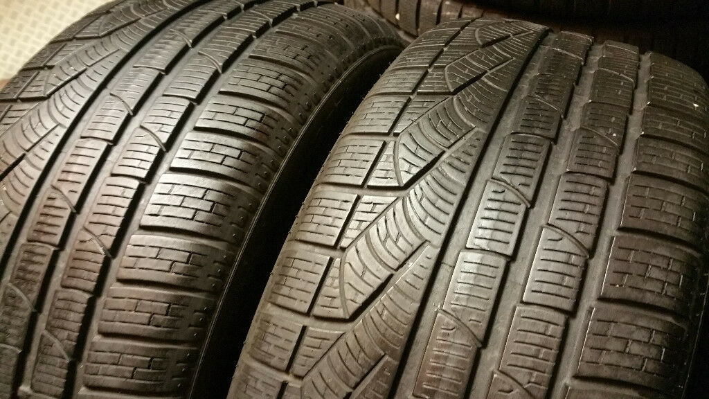 255 40 18 2 x tyres Pirelli SottoZero Winter RUN FLAT