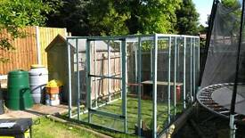Brand new, hand made rabbit / small animal enclosure. 4ft x 6ft x 6ft high