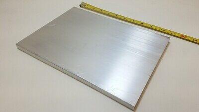 6061 Aluminum Flat Bar 12 X 8 X 11 Long Solid Stock Plate Machining
