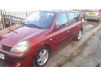 Renault clio, 2004, 1.4 16v, 5 speed manual, low mileage, 5 door, metalluc burgundy, excellent cond
