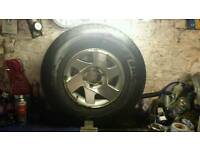 L200 wheel and tyre