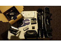 Sony HDR-SR10E 40GB Camcorder, With Carry Case, Remote, Spare Battery & Tripod!!