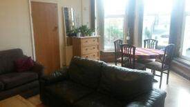 One double bedroom ground floor flat in Crookesmoor with generous living room. Sheffield.
