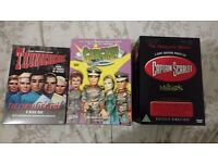 Gerry Anderson DVD Box Set Collection (Thunderbirds, Stingray & Captain Scarlet)
