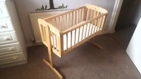 Mothercare Swinging Crib - Offers welcome