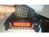 Yaesu FT-7800 VHF Transceiver + seperation kit and window mount