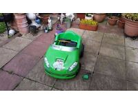 Ben 10 Injusa Speedy 6V Electric Car Ride On Full Working Condition