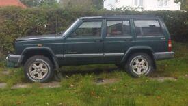 Jeep cherokee xj diesel. Main and transfear gearbox