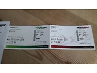 Giselle theatre tickets x2. Over 60s concessions