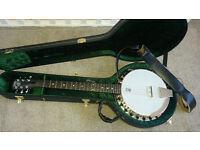 Deering Banjos B6 Boston 6 String Guitar Banjo