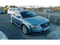 03 Audi TT Quattro Coupe Service History leather trim 2 Owners ( can be viewed inside Anytime