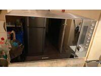 Silvercrest Reflective Mirror Door Stainless Steel interior Combination Convection / Microwave Oven