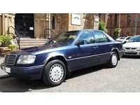 Mercedes Benz E250 Diesel Manual 1996 W124 Saloon 12 month MOT