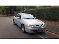 2002 Renault Megane 1.6 Coupe MOT With Half Leather Cheap Sporty Car Not Clio