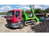 daf Skip lorry loader