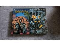 Batman Knightfall Vol 1 and 2 comics
