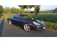 Porsche 911 996 3.4 Carrera 2 Manual - Ocean Blue - Stunning