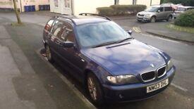 2003 BMW 318i ES needs work