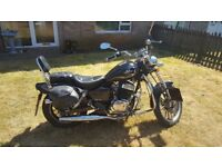 Ajs 125dd Regal Raptor NEW MOT