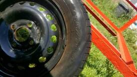 165/70/13 tyre with rim