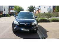 Honda CR-V in Nighthawk Black with full black leather interior. this car is in great condition. FSH