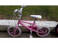 12 inch Girls Princess Bike