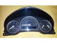 Saab 93 speedometer, new shape, 2007
