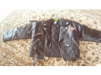 Harley davidson jacket kids age 7