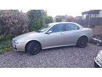 Alfa Romeo 156 jts. £900.00 ono. May p/x swap.